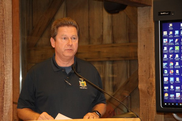 Springs Fire District Commission Patrick Glennon