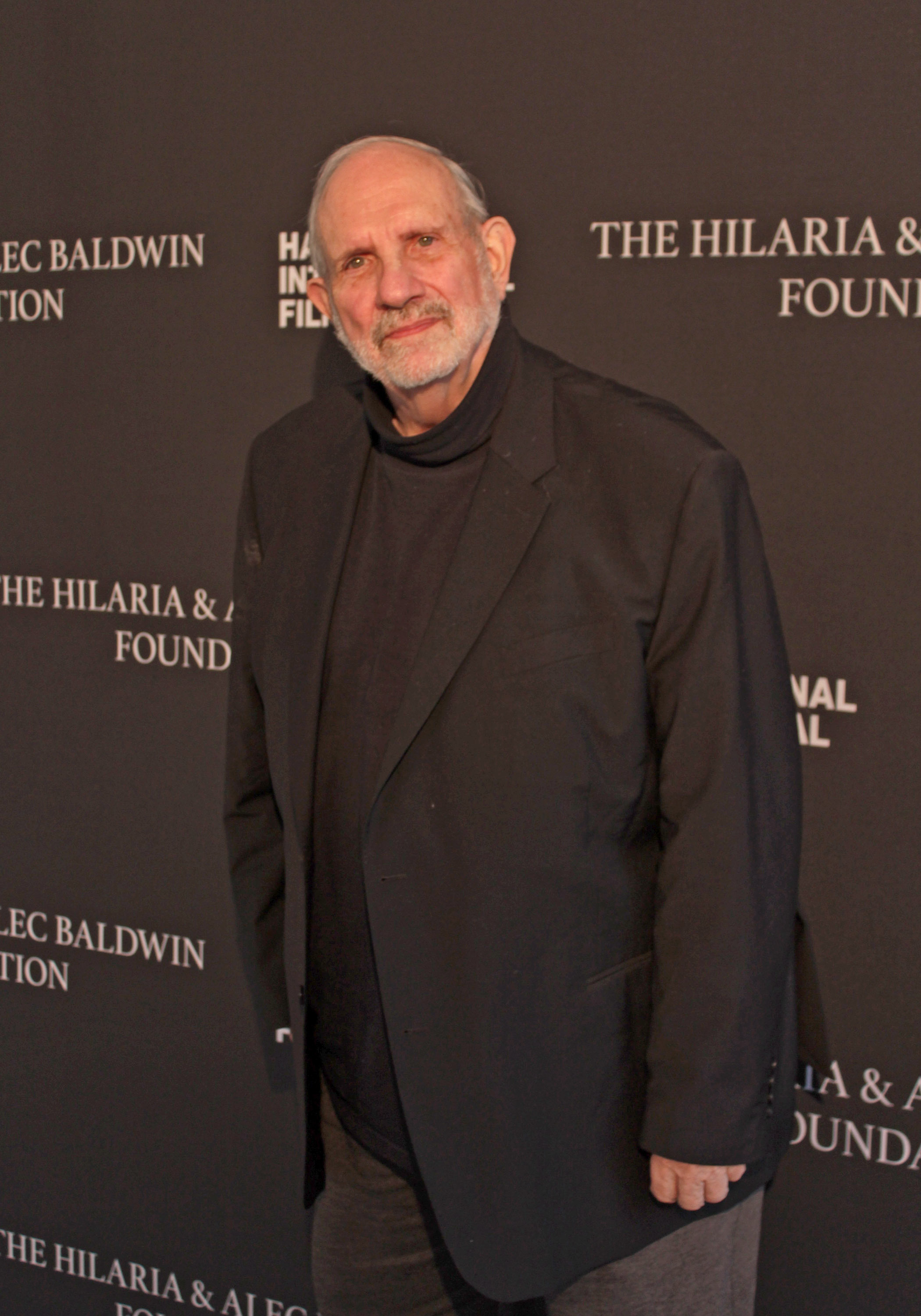Filmmaker Brian De Palma who was honored at the 2019 Hamptons International Film Festival.