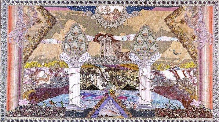 Amy Zerner tapestry.