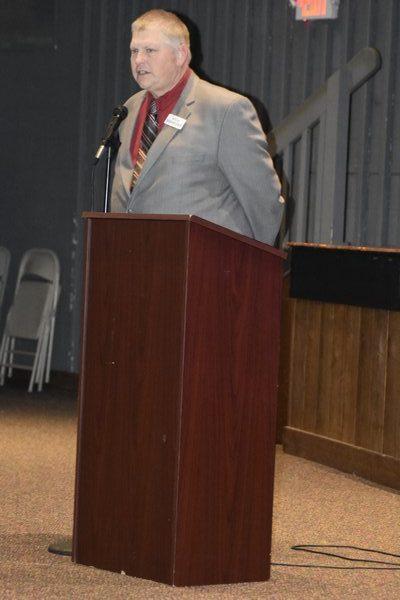 East Hampton Hall Of Fame President Rich Schneider.