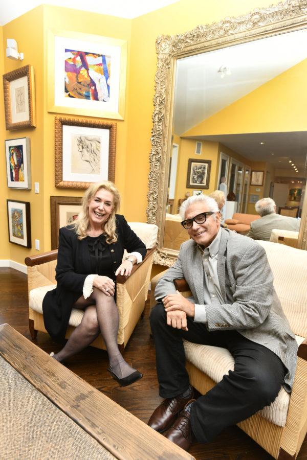 Cindy Lou Wakefield and Rick Friedman.  DANA SHAW