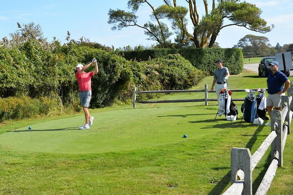 Collegiate golfers descended upon Maidstone Golf Club in East Hampton on Monday and Tuesday for the inaugural Hamptons Intercollegiate tournament. Participating schools included Brown, Cornell, Loyola (Md.), Oregon State, Penn, Princeton, Richmond, Seton Hall and Yale.