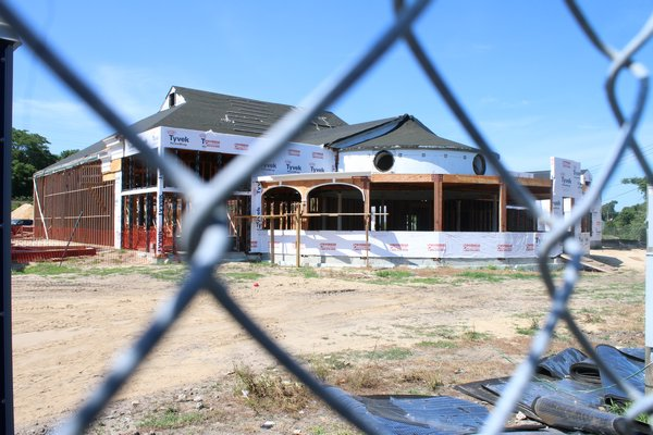 The Canoe Place Inn is expected to have the largest catering hall on the South Fork. PRESS FILE