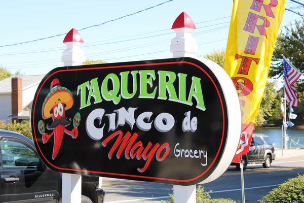 Taqueria Cinco de Mayo Grocery is located at 491 Montauk Highway in Eastport.