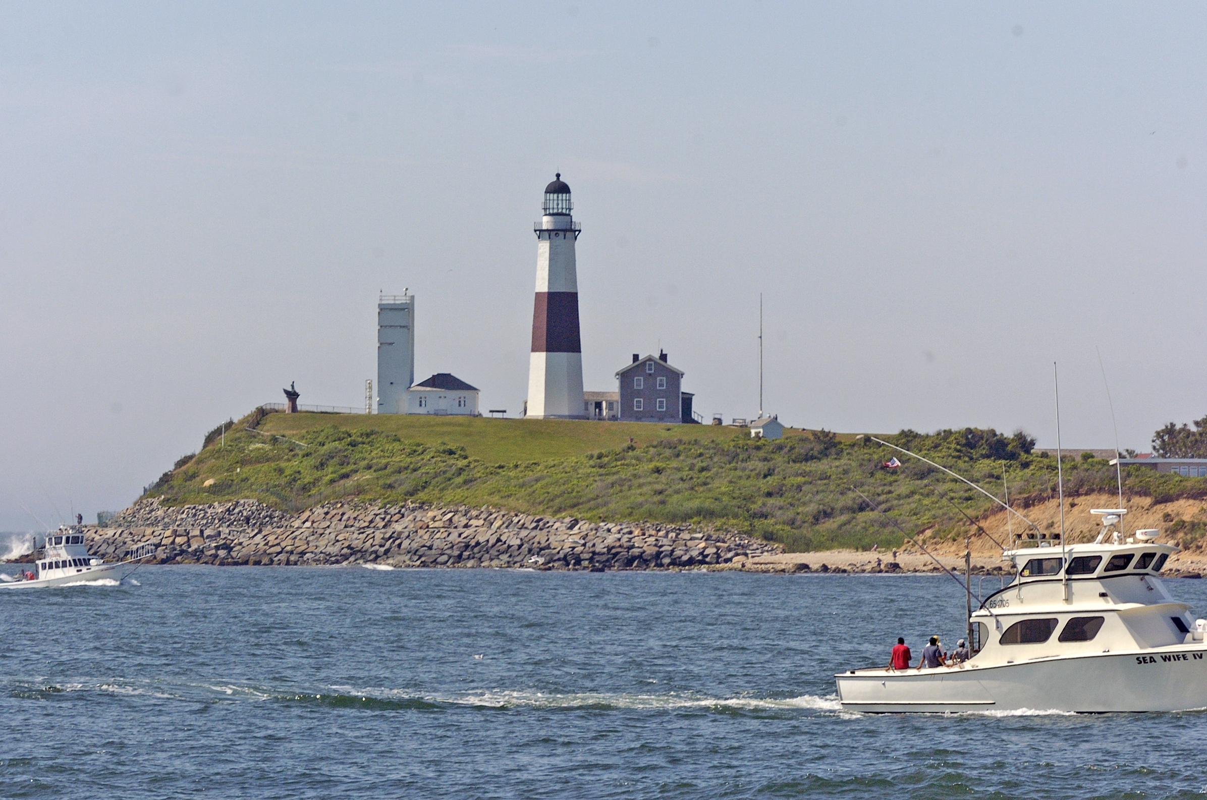 The Montauk Lighthouse.  PRESS FILE