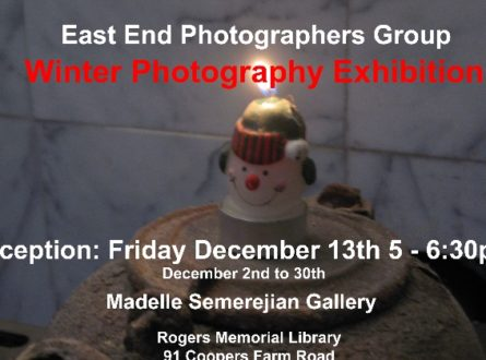 East End Photographers Group Winter Show