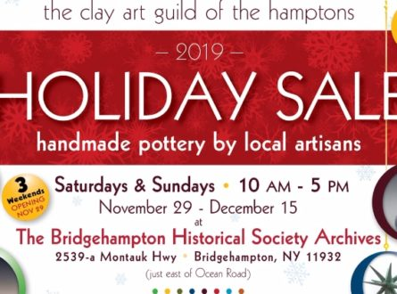 Holiday Show and Sale- The Clay Art Guild of the Hamptons