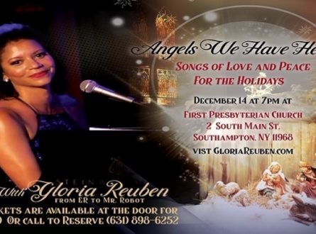 Gloria Reuben in Concert – Angels We Have Heard…songs of love and peace for the holidays