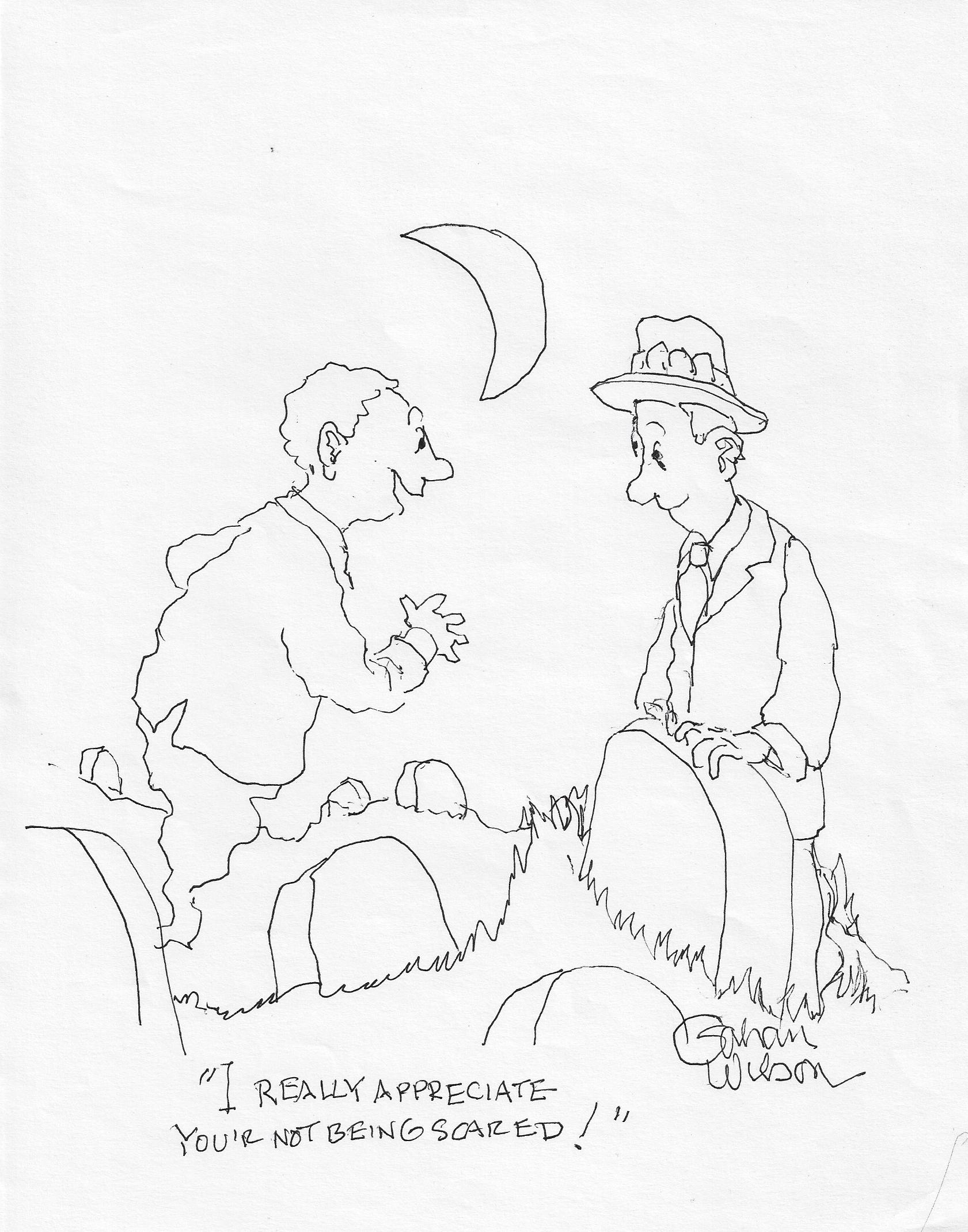 A Gahan Wilson cartoon.