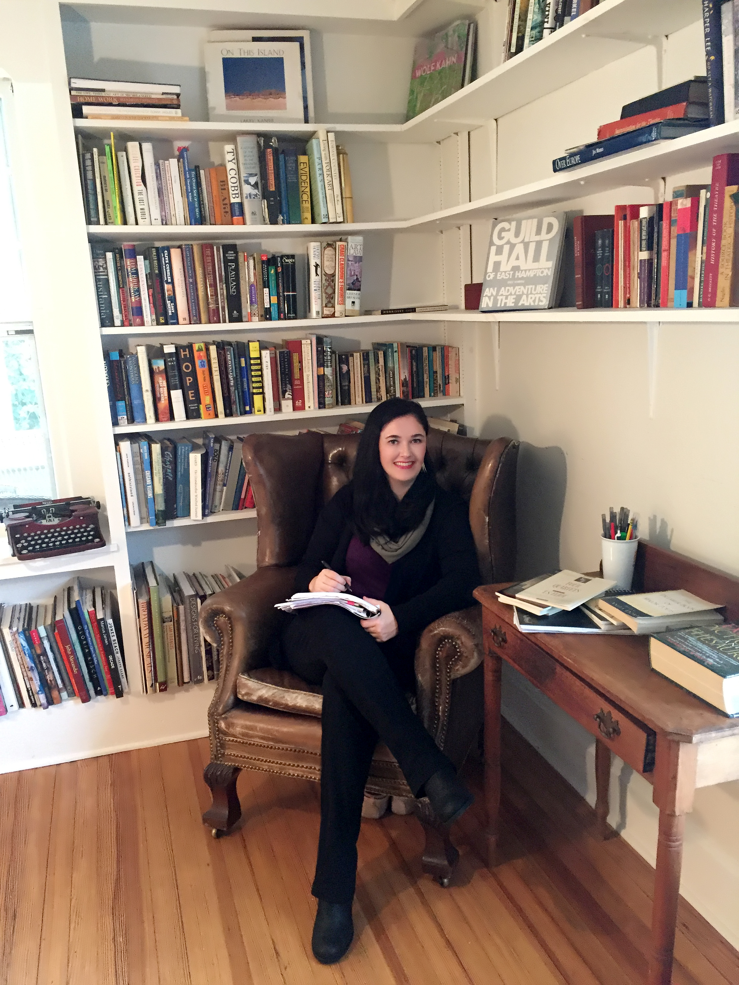 Caitlin Doyle at Guild House in East Hampton.