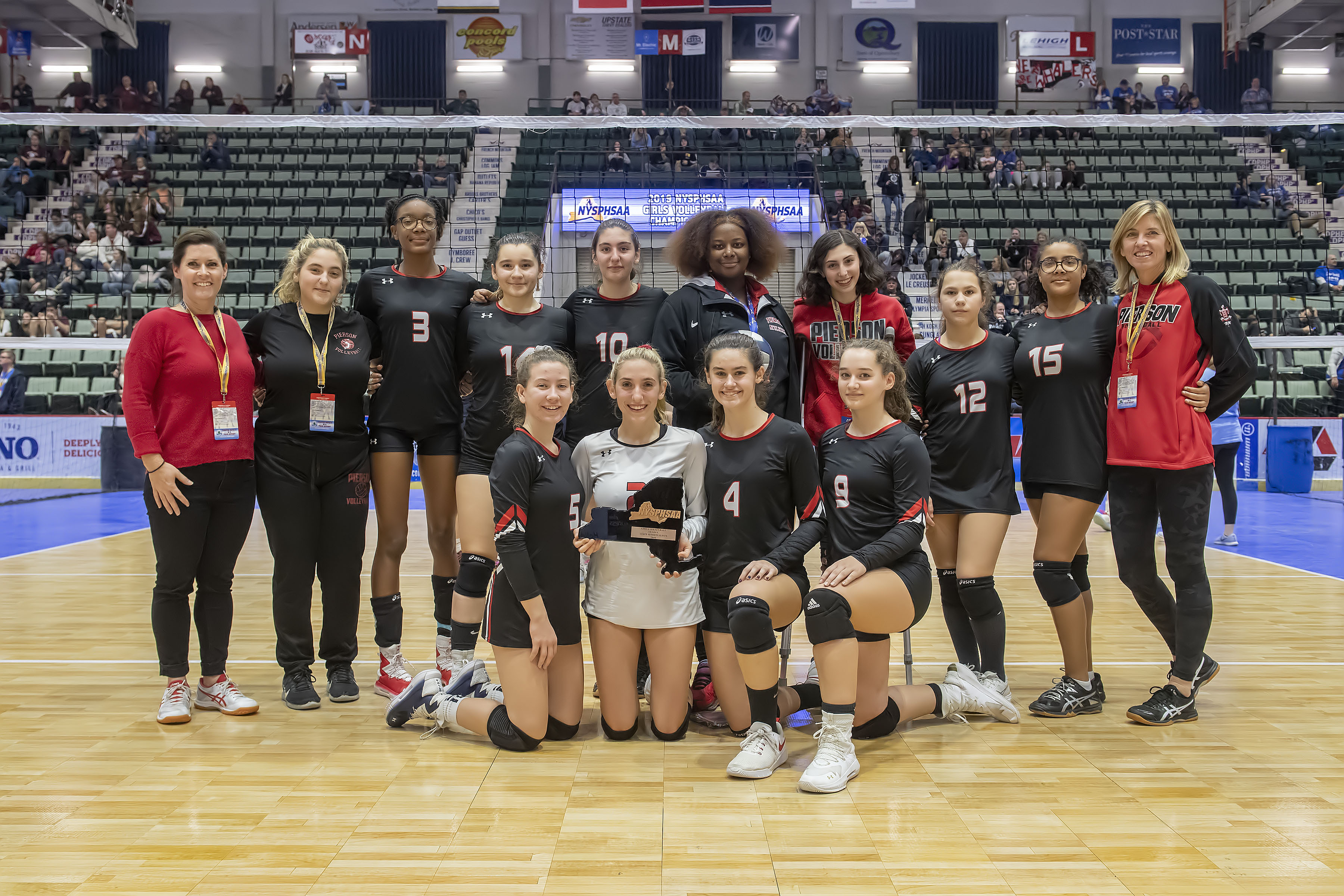 The Pierson/Bridgehampton girls volleyball team reached the New York State Public High School Championships for the second time in three years.