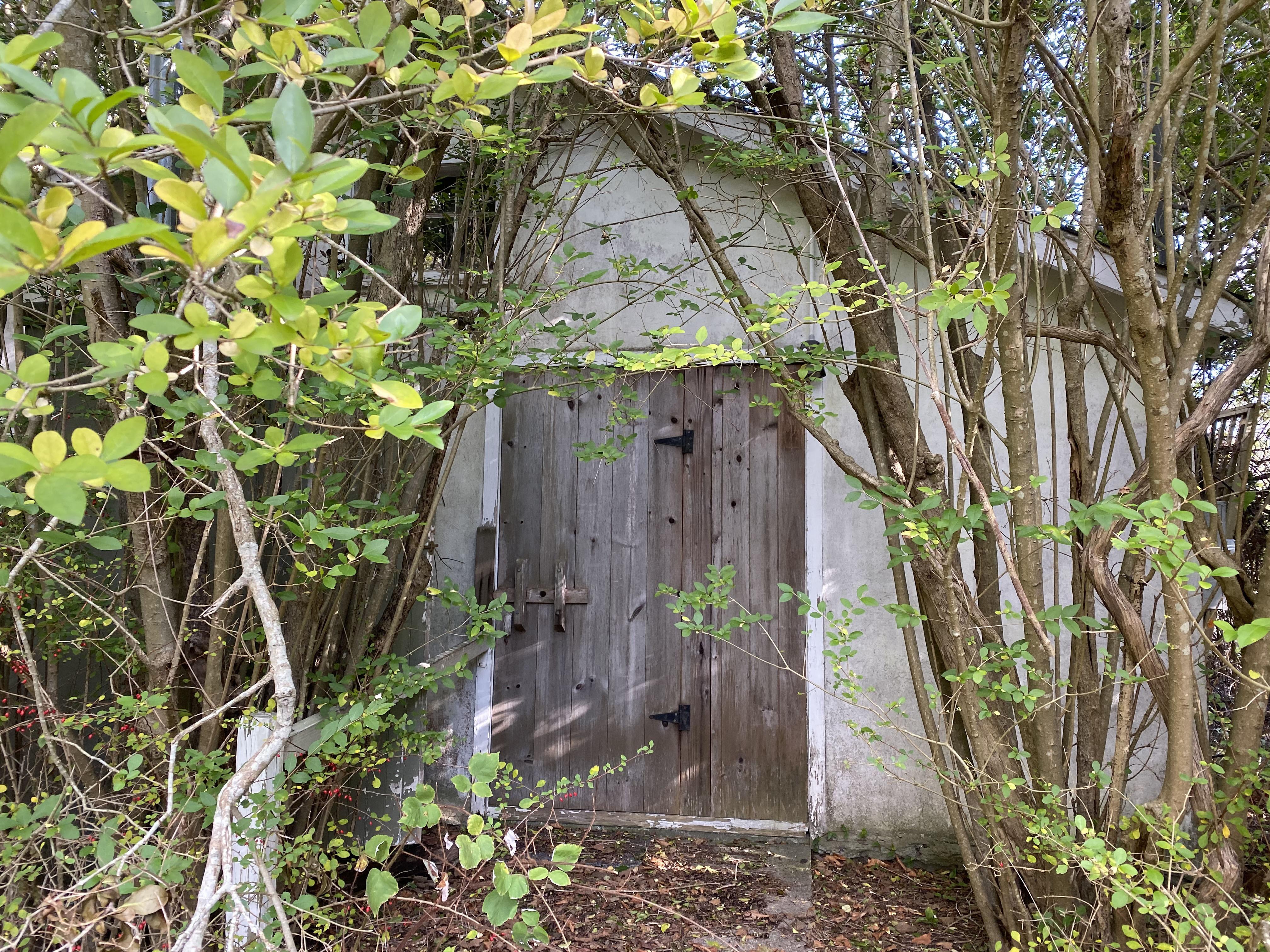 Peter Matthiessen's property in Sagaponack.  DANA SHAW