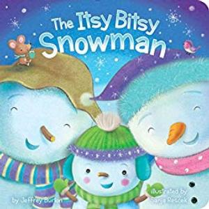 The Itsy Bitsy Snowman Story and Craft