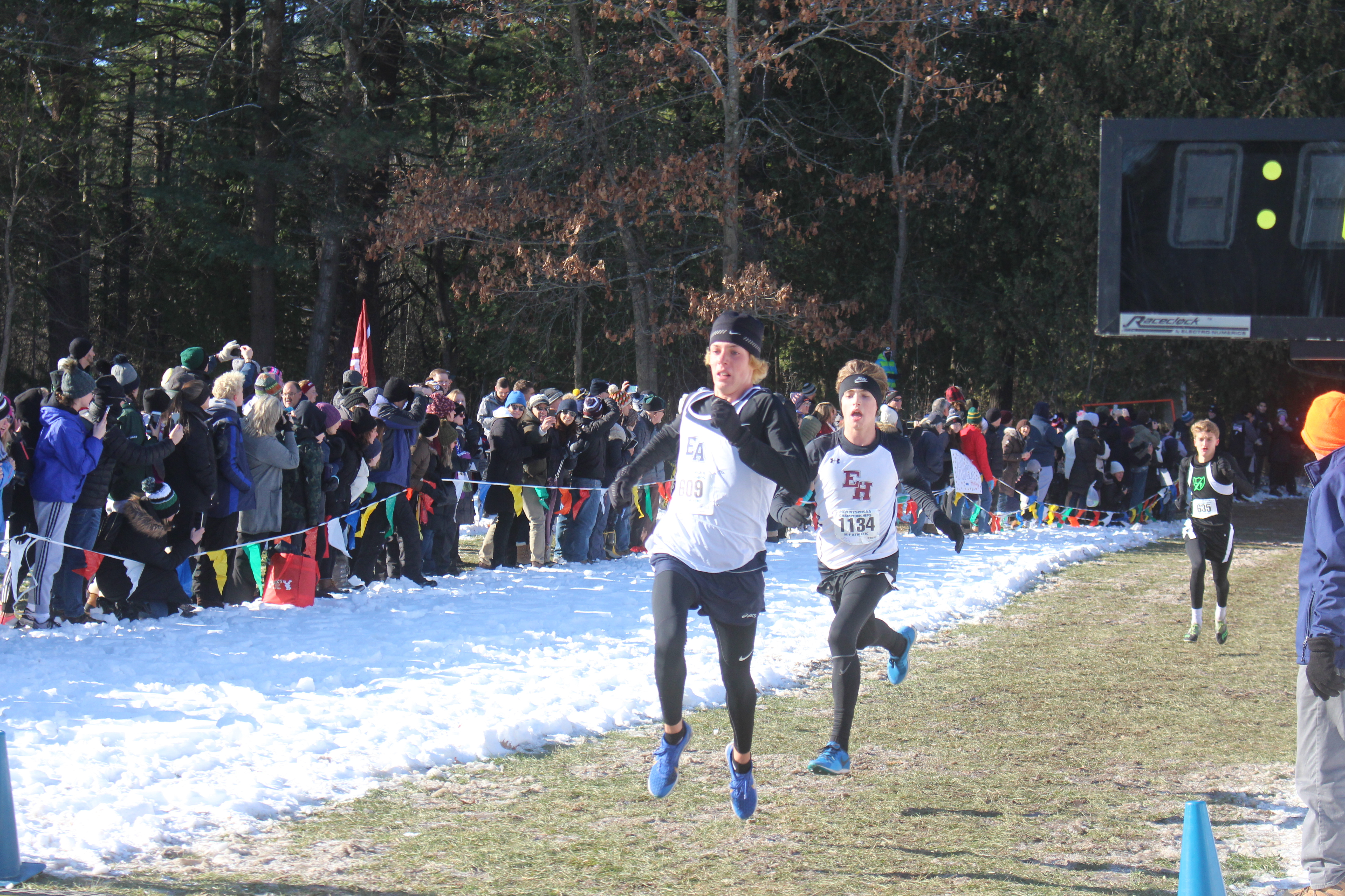 East Hampton's Evan Masi finished 23rd in the state to earn All-State honors.