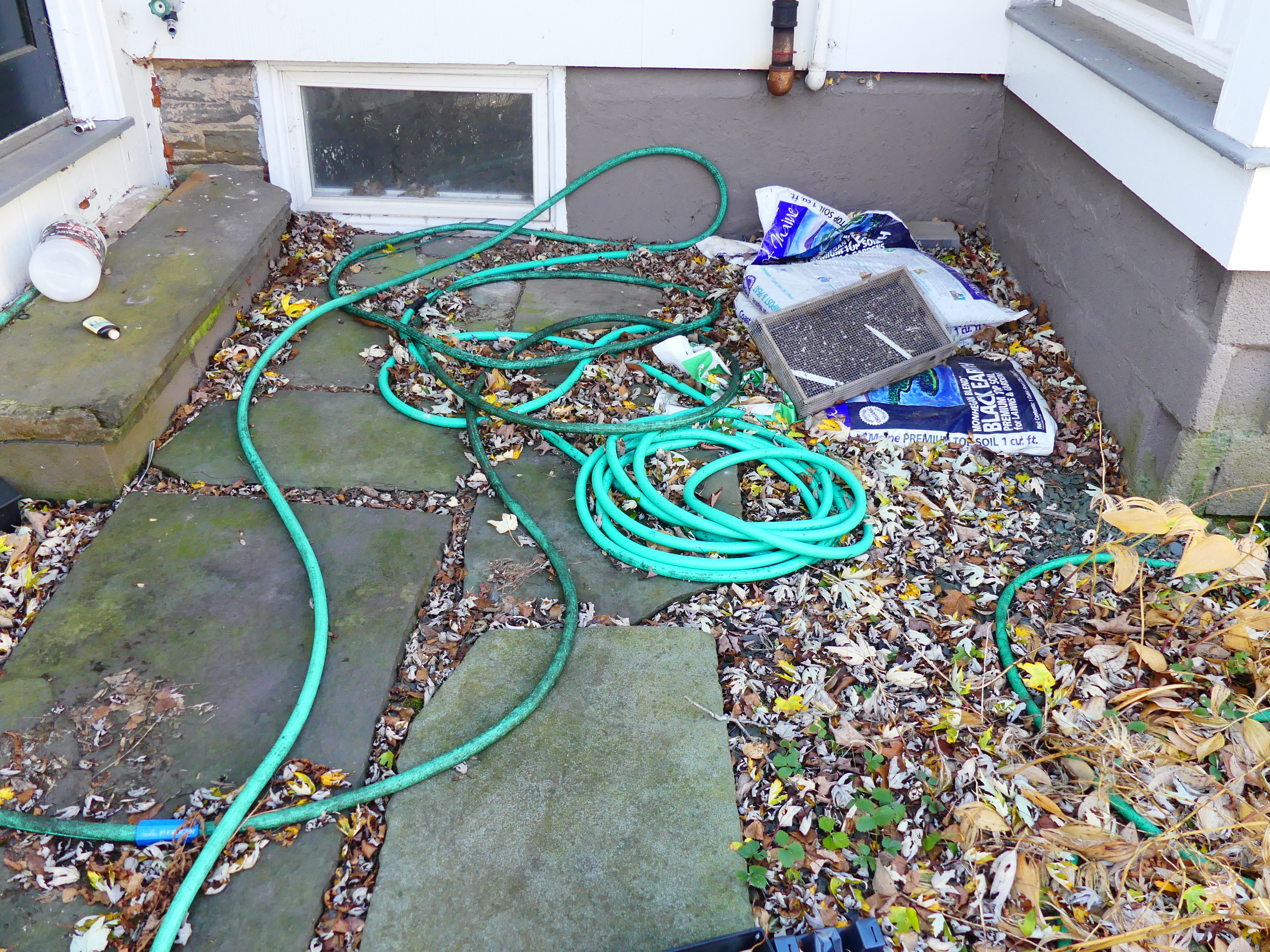 At 7 a.m. on November 2 Westhampton Beach recorded 31 degrees. Once it drops below 40 degrees, most garden hoses become stiff and hard to coil for storage. On a sunny day stretch them out in the sun, allow them to drain, then coil and store for the winter. ANDREW MESSINGER