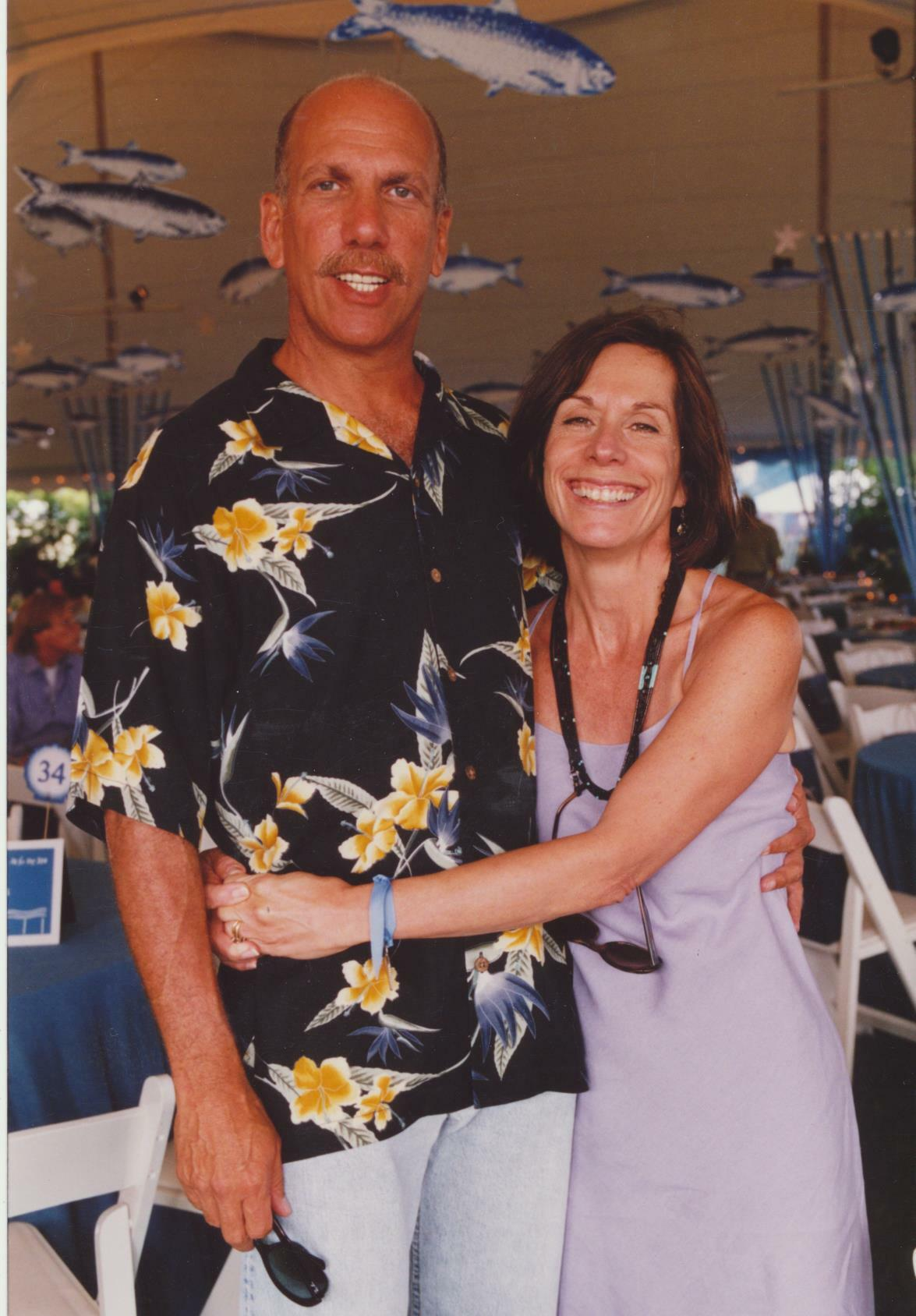 Robert F.X. and Laura Baudo Sillerman at an