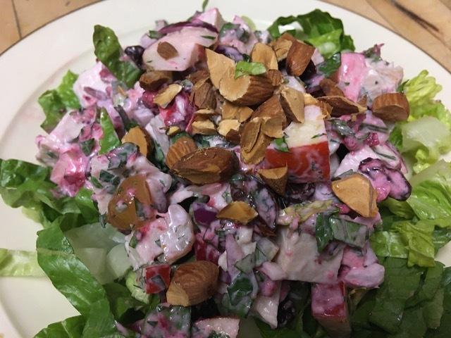 Leftover Turkey Salad.