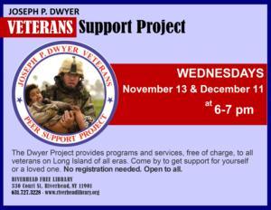 Joseph Dwyer Veterans Peer Support Group