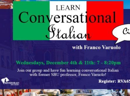 Learn Conversational Italian