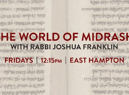 Adult Learning | THE WORLD OF MIDRASH at Jewish Center of the Hamptons