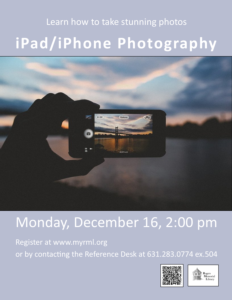 iPad/iPhone Photography
