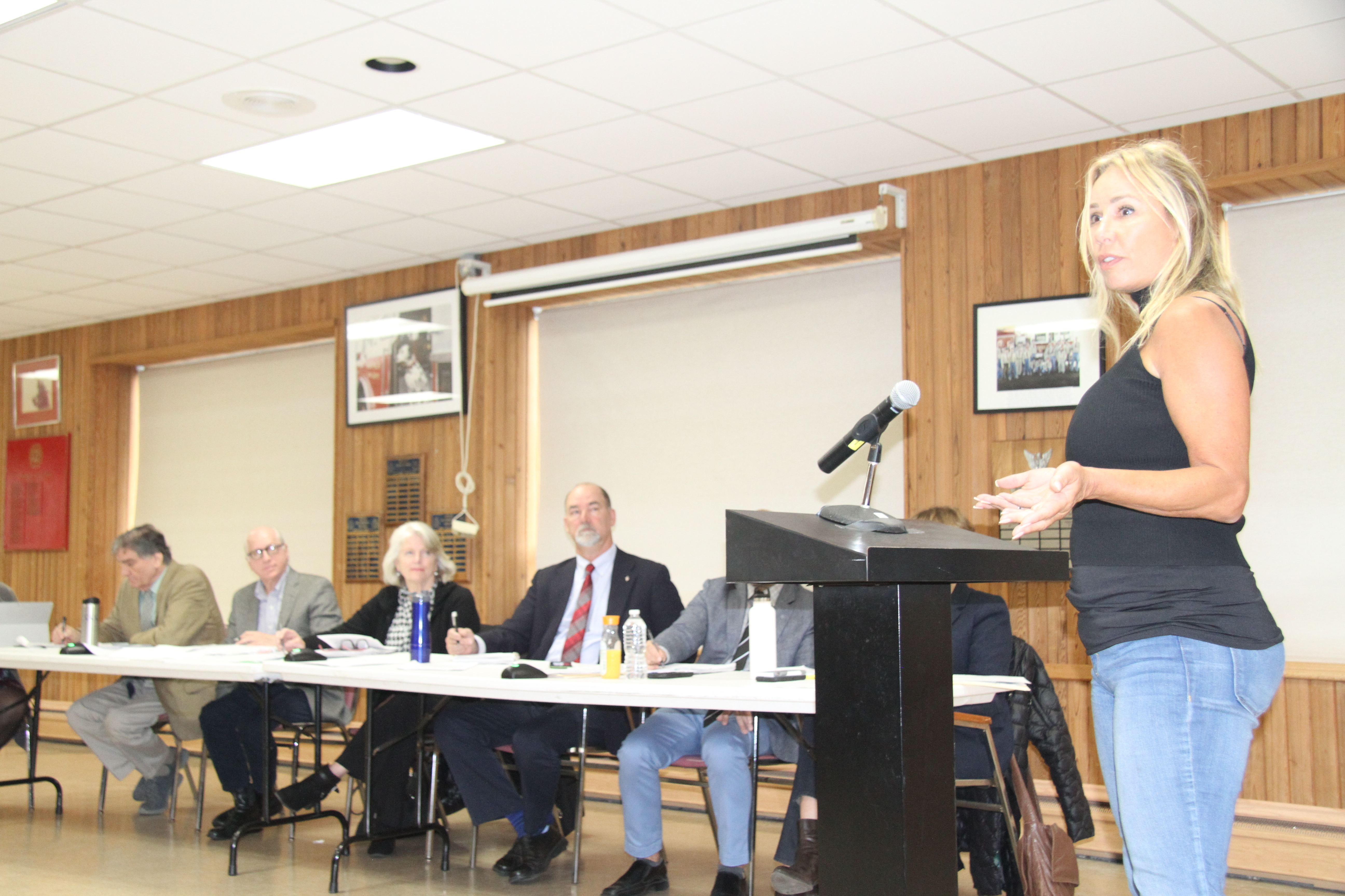 Musicians and business owners asked the Town Board to keep the restriction on music permits to the minimum necessary.