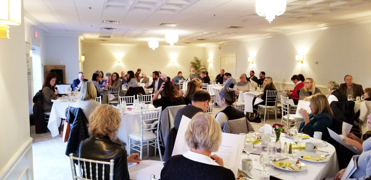 Southampton Business Alliance hosted a presentation on the Housing Stability and Tenant Protection Act of 2019 on November 19 at the Southampton Inn.  SHERYL HEATHER
