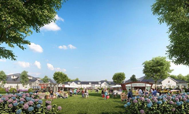 The plans for the Bridgehampton Gateway in Bridgehampton have proved to be controversial.