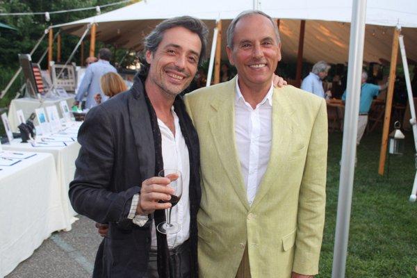 Eric Pettigrew and John Stedila.