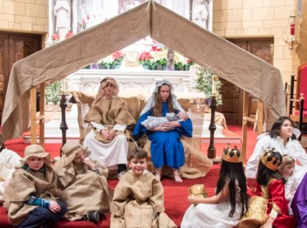Sacred Hearts Anual Children's Christmas Pageant