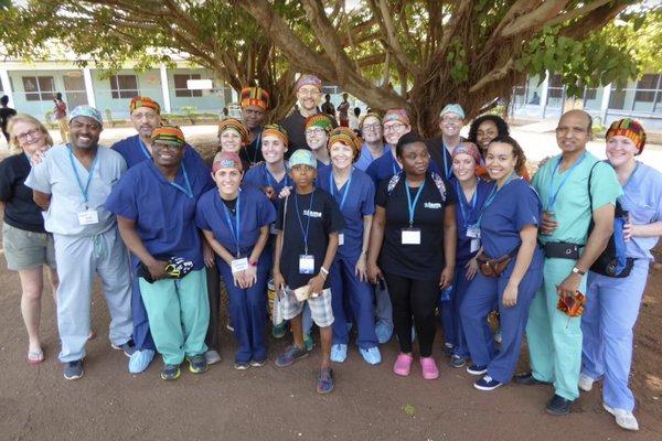 Team Michigan prepares to leave for Mount Kilimanjaro. COURTESTY OPERATION INTERNATIONAL