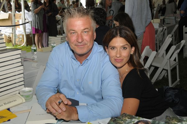 Alec and Hilaria Baldwin.