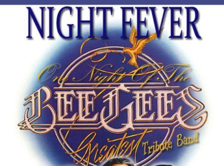 Night Fever! Bee Gees Tribute – DANCE FLOOR IS OPEN!