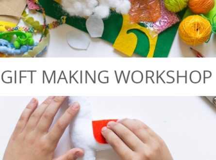 Family Workshop: Holiday Gift Making