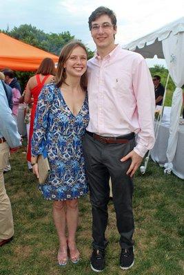 Isabella Crow and Reed Motulsky