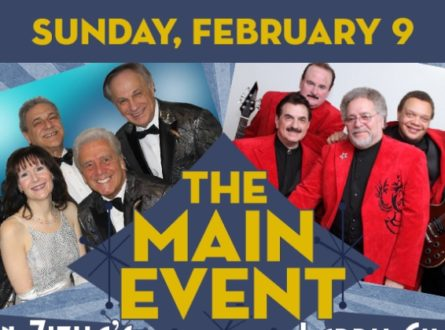 The Main Event, featuring The Del Satins * The Earls * The Tribunes