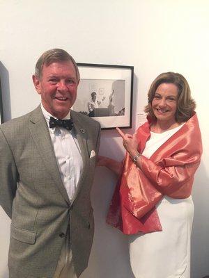Kathleen McFarland and her husband