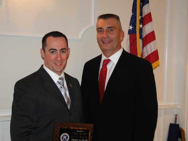 Southampton Town Police Officer James C. Cavanagh