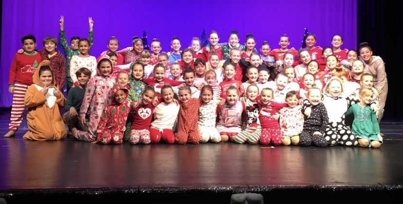 Creative Edge Studio dancers during the troupe's 2018 Holiday Spectacular.