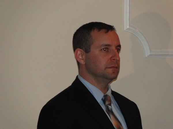East Hampton Town Police Officer David E. Martin was named his department's police officer of the year Friday night.