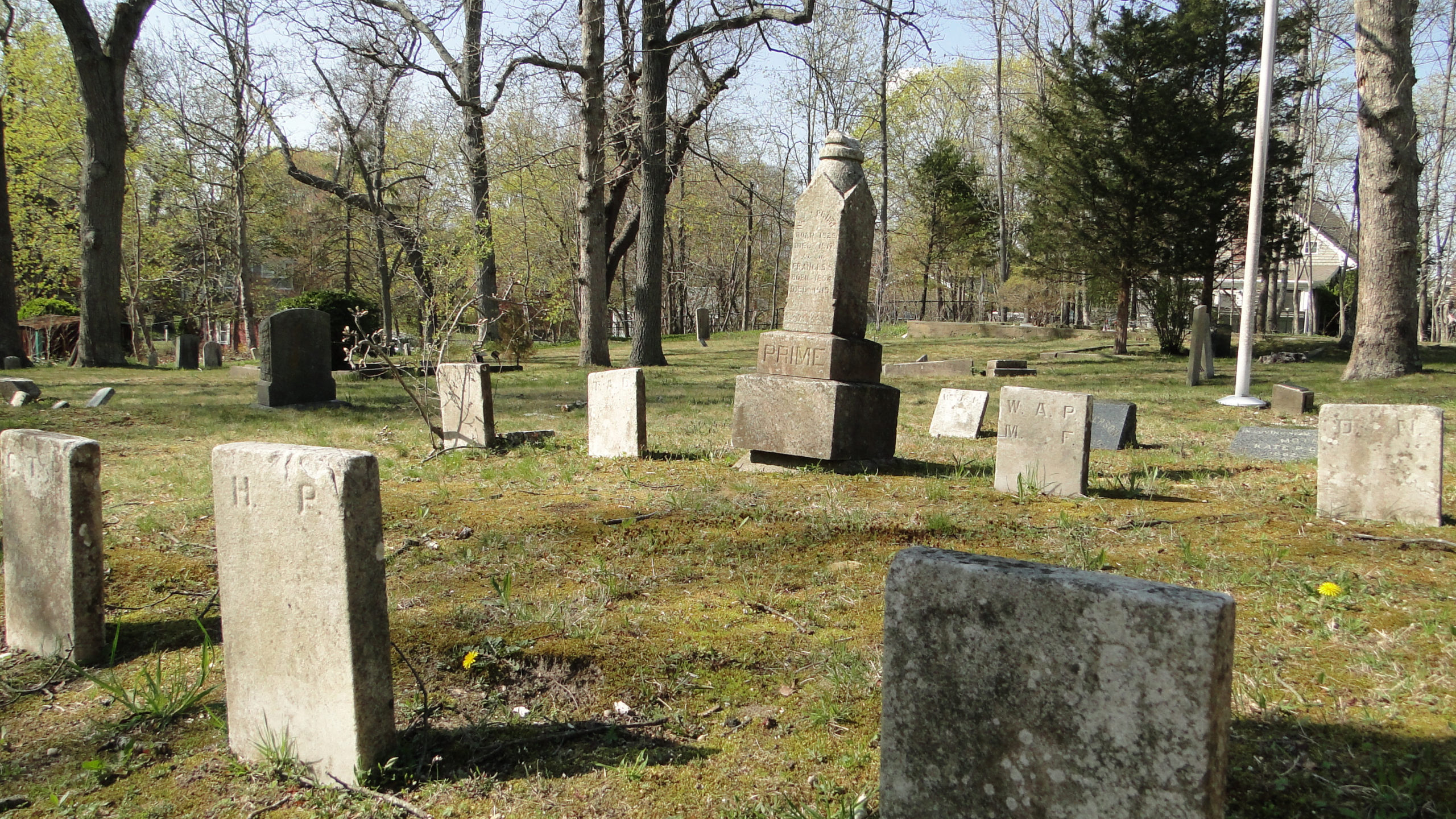 The Eastville Community Historical Society is organizing a cleanup of the African Methodist Episcopal Zion Cemetery on Eastville Avenue in Sag Harbor