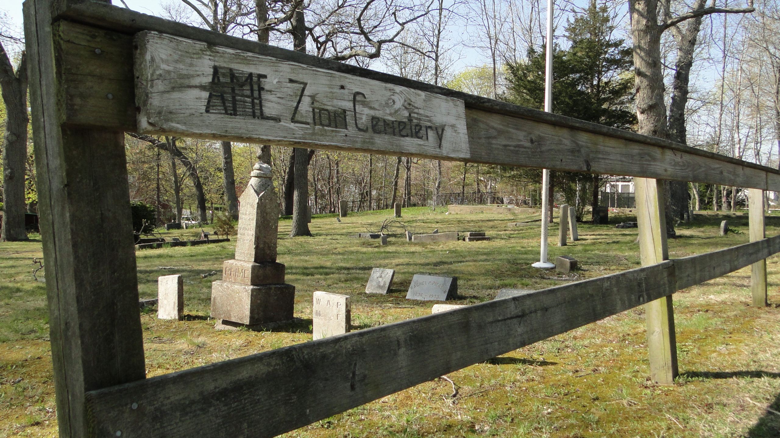 The Eastville Community The African Methodist Episcopal Zion Cemetery in Sag Harbor's Eastville By COLLEEN REYNOLDS