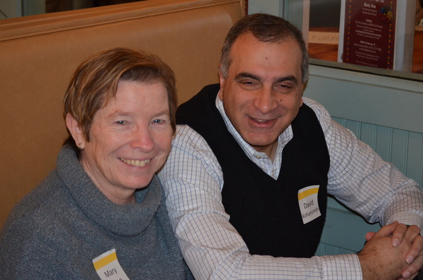 Rosemarie King stepped down from the Hampton Bays Library Board of Directors this month after serving for 10 years. AMANDA BERNOCCO