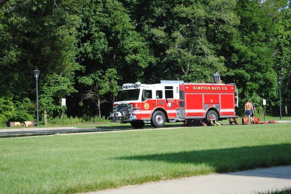 The Hampton Bays Fire District's most recent acquisition occurred in 2004