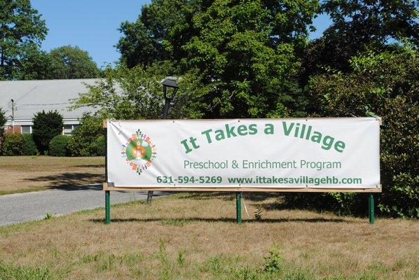 It Takes A Village Preschool is ran by three local mother's in Hampton Bays. AMANDA BERNOCCO