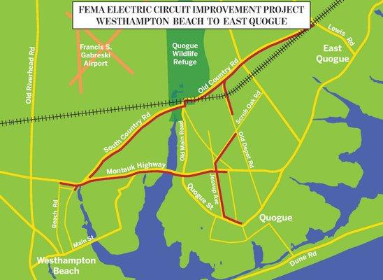 FEMA Electric Circuit Improvement Projects