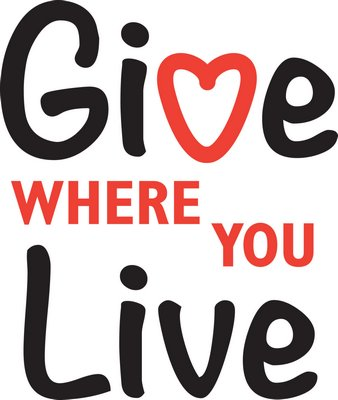 The Give Where You Live logo.