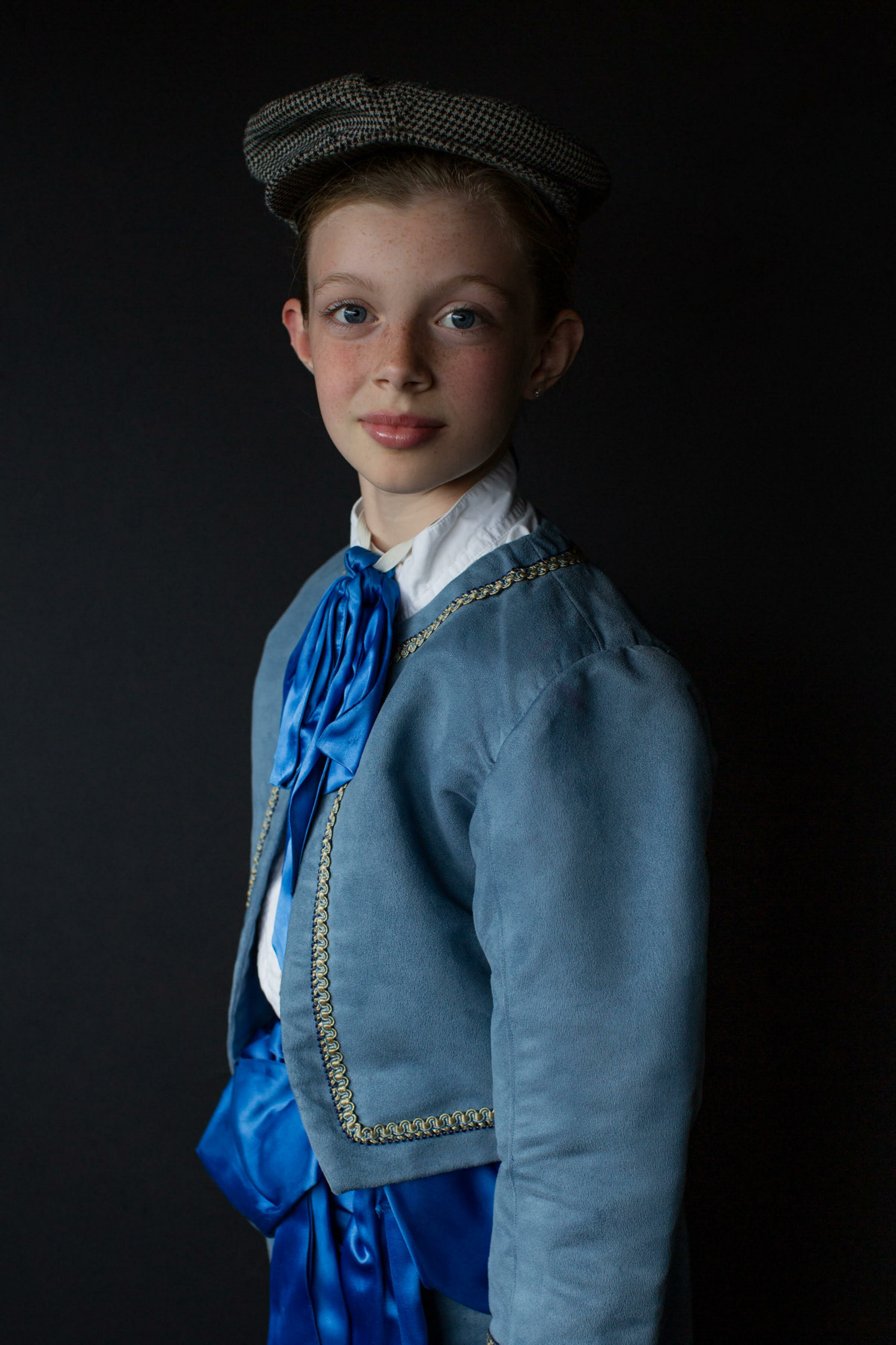 Olivia Quinn as Clara's fiesty older brother, Fritz.
