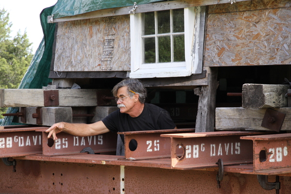 Richard Baxter of Baxter Restoration at Hook Mill. KYRIL BROMLEY