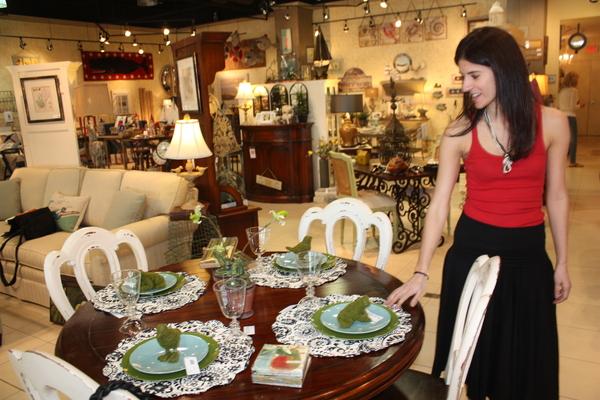 a business that Jessica de Kerillis opened up in Bridgehampton in April.